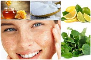 Cách tẩy da chết cho da mặt bạn bằng nguyên liệu thiên nhiên tại nhà