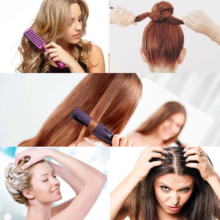 Những việc làm đang dần phá hủy mái tóc của bạn